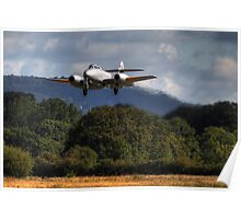Gloster Meteor on Finals (HDR) Poster
