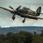Hawker Hurricane on Finals (HDR) by Shane Ransom