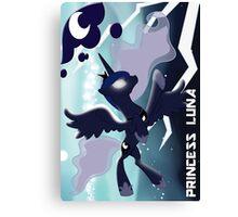 The Regal Princess Luna Canvas Print