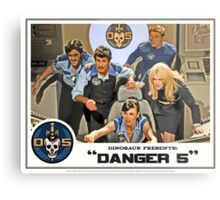 "Danger 5 Lobby Card #3 - ""In the balance"" Metal Print"
