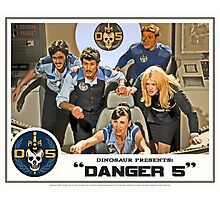 "Danger 5 Lobby Card #3 - ""In the balance"" Photographic Print"