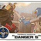 """Danger 5 Lobby Card #4 - """"Danger Damage"""" by Danger Store"""