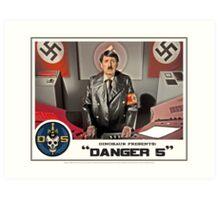 "Danger 5 Lobby Card #5 - ""Ich comme Mutti"" Art Print"
