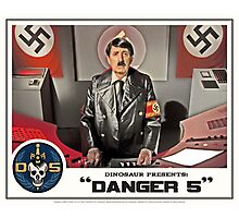 "Danger 5 Lobby Card #5 - ""Ich comme Mutti"" Photographic Print"