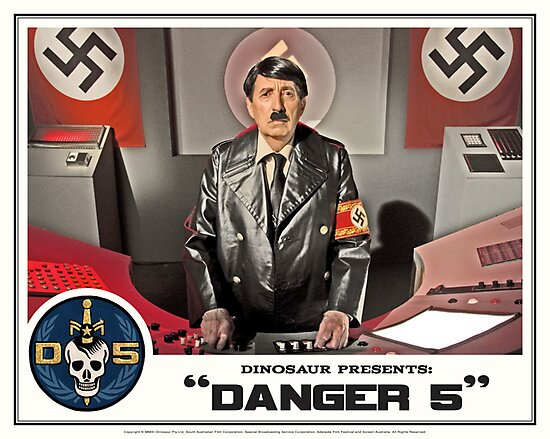 """Danger 5 Lobby Card #5 - """"Ich comme Mutti"""" by Danger Store"""
