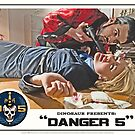 "Danger 5 Lobby Card #6 - ""You talk to much"" by dinostore"