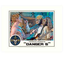 "Danger 5 Lobby Card #7 - ""Yeah, let's pop him"" Art Print"