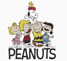 Peanuts - Snoopy, Charlie Brown, Sally, Schreder, Woodstock, Lucy by PippoNoise