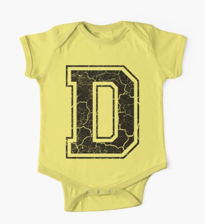 D - the Letter One Piece - Short Sleeve