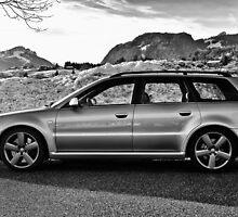 Audi RS4 Avant B5 by Micha Dijkhuizen