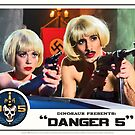 Danger 5 Lobby Card #9 - &quot;Swiss Kiss&quot; by dinostore