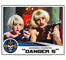 "Danger 5 Lobby Card #9 - ""Swiss Kiss"" Photographic Print"