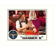"Danger 5 Lobby Card #12 - ""Hein's wife"" Art Print"