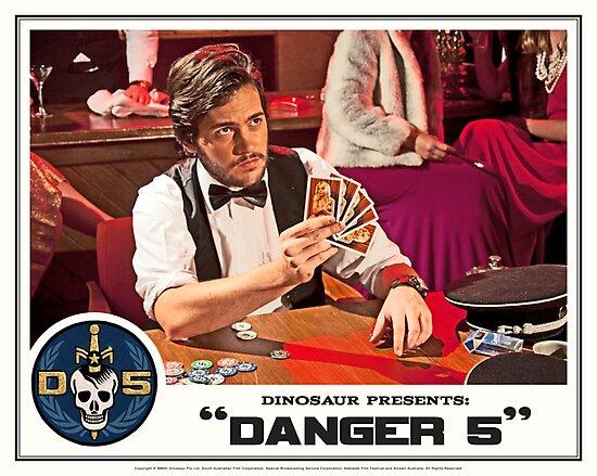 "Danger 5 Lobby Card #12 - ""Hein's wife"" by Danger Store"
