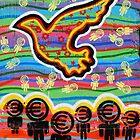 Graffiti Bright Dove by VintagePT