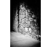 Brick & Stone Wall Photographic Print
