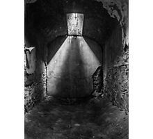 Empty jail cell Photographic Print