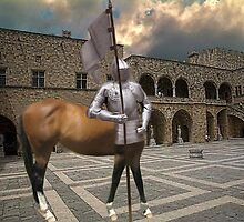 ☆.¸¸.{KNIGHT- MARE} LOL.. AT COURT YARD GRAND MASTERS PALACE RHODES GREECE☆.¸¸. by ╰⊰✿ℒᵒᶹᵉ Bonita✿⊱╮ Lalonde✿⊱╮