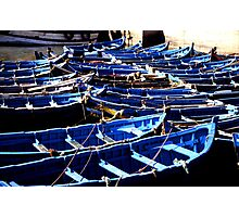 Essaouira - fishing boats Photographic Print