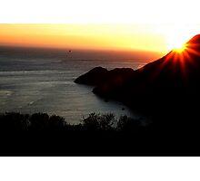 Landscape at California, San Francisco  Photographic Print