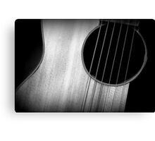 Strummin' in Low Key Canvas Print