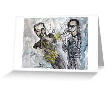 Blow Boys Blow Greeting Card