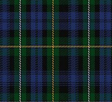 01873 Campbell of Argyll Clan/Family Tartan Fabric Print Iphone Case by Detnecs2013