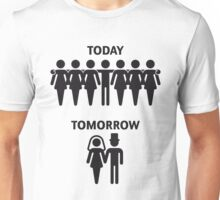 Today - Tomorrow (Stag Night / Stag Party) Unisex T-Shirt