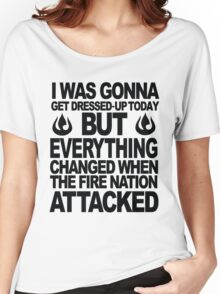 Blame the Fire Nation! Women's Relaxed Fit T-Shirt