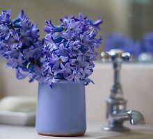 Hyacinths by Justine Gordon
