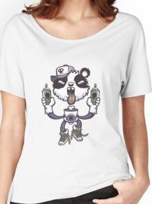 Graffiti Panda. Women's Relaxed Fit T-Shirt