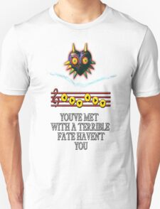 Dr Who crack + Majora's Mask T-Shirt