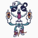 Graffiti Panda BRIGHT. by LewisJamesMuzzy