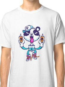 Graffiti Panda BRIGHT. Classic T-Shirt