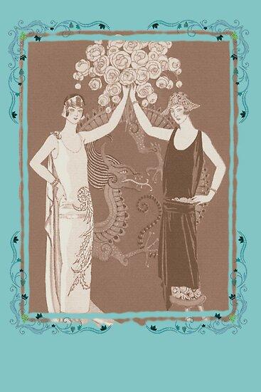 Vintage Women by Tickleart