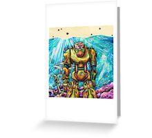 The Atlantean Relic Greeting Card