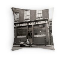 Classic Cafes cards! Throw Pillow