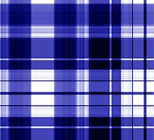 The Plaid Background - Blue by LividRhythm