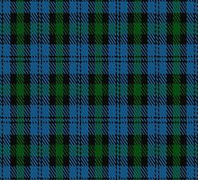 01880 Campbell of Glenlyon Clan/Family Tartan Fabric Print Iphone Case by Detnecs2013