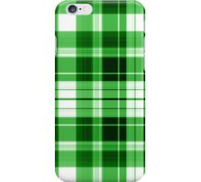 The Plaid Background - Green iPhone Case/Skin