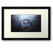 Proxy-Ashes in the ocean Framed Print