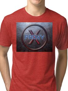Proxy-Ashes in the ocean Tri-blend T-Shirt