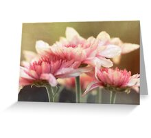 No matter the shadows, your presence is like sunlight on my face. Greeting Card