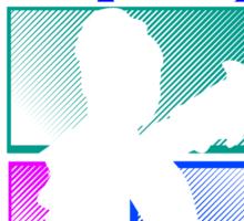 Title Archer (striped) Sticker