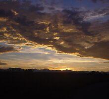 ~rocky mountain sunset~ by wordwulf