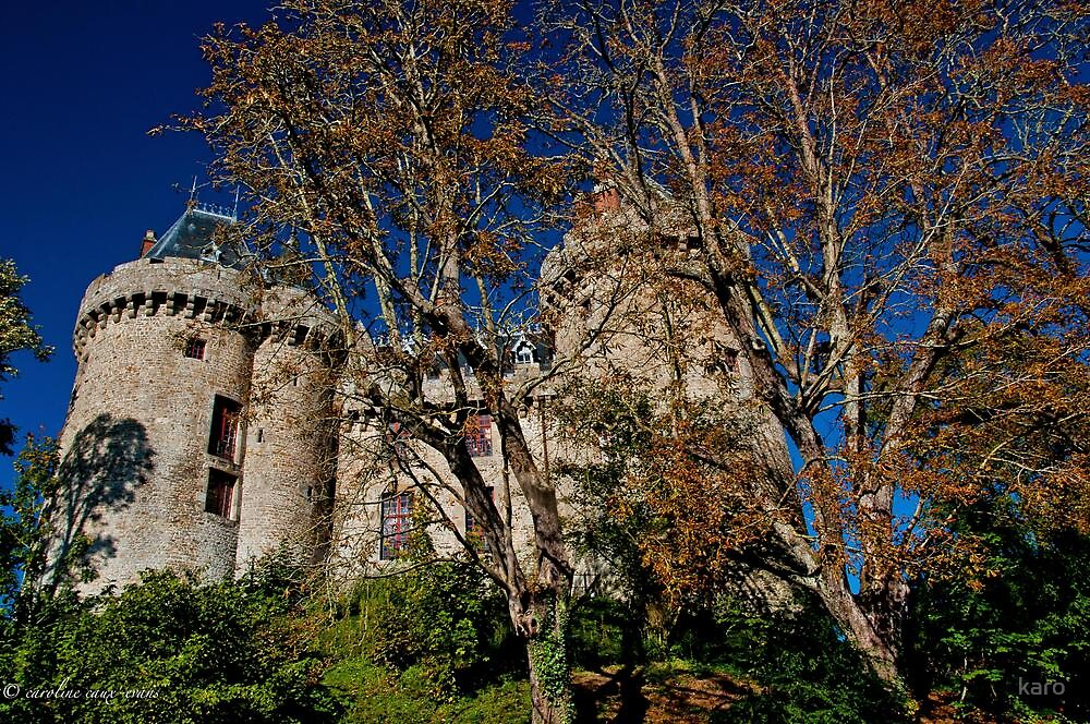 Majestic Combourg castle by karo