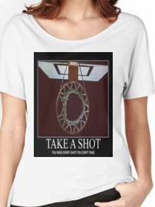 Take A Shot Women's Relaxed Fit T-Shirt