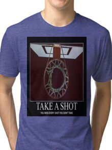 Take A Shot Tri-blend T-Shirt