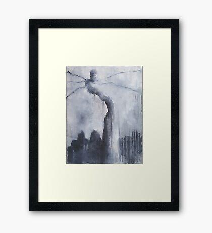 Nocturn 34: Naqoy, the Dreamer Framed Print
