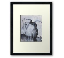 Nocturn 33: Harpy, the Smoker Framed Print